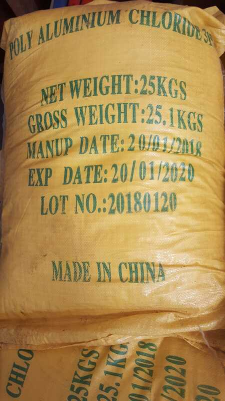 Poly Aluminum Chloride, Highchem Trading, Chemical Supplier, Manila, Philippines