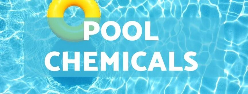 Pool Chemicals, Highchem Trading, Manila, Philippines