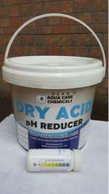 Dry Acid Aqua Care, pH reducer, pH down, Muriatic Acid, Highchem Trading, Chemical Supplier, Manila, Philippines